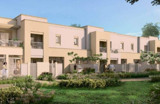 Naseem Townhouses in TownSquare by Nshama